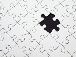 puzzle piece showing customized